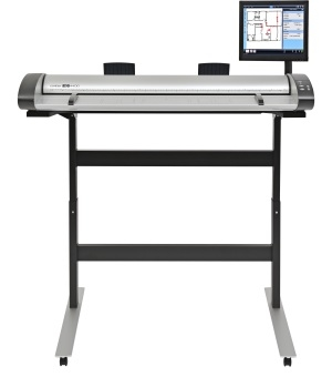 "Contex-IQ Quattro 44 MFP REPRO-Color-Scanner- 21,5 "" TouchScreen - Software Nextimage 5 REPRO"